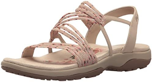 trabajo duro complicaciones Perímetro  Skechers Women's Reggae Slim-Stretch Appeal Sling Back Sandals:  Amazon.co.uk: Shoes & Bags