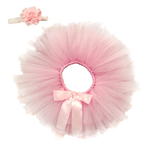 Jastore Newborn Girls Photo Photography Prop Tutu Skirt Headband Outfits (Style 23) ()