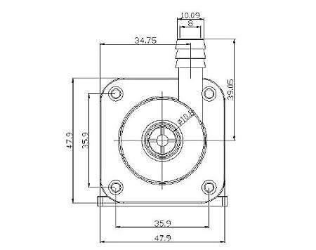 Riorand5 12v Dc Micro Brushless Magnetic Pump High Amazon Co Uk