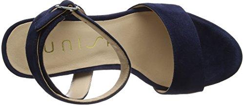 Unisa Donne Warhol_ks_se Sandali Con Il Cinturino Blu (oceano)