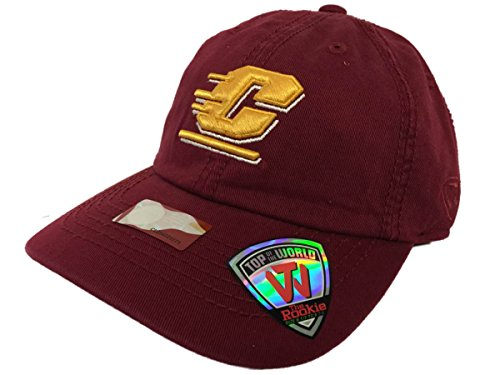 (Central Michigan Chippewas Tow Youth Rookie Maroon Crew Adjustable Hat Cap)