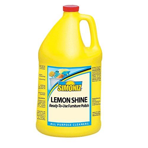 Simoniz L2045004 Lemon Shine Furniture Polish, 1 gal Bottles per Case (Pack of 4) by Simoniz