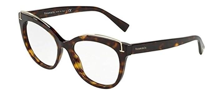 3ff8d8fdc5b Tiffany TIFFANY T TF 2166 DARK HAVANA women Eyewear Frames  Amazon.co.uk   Clothing