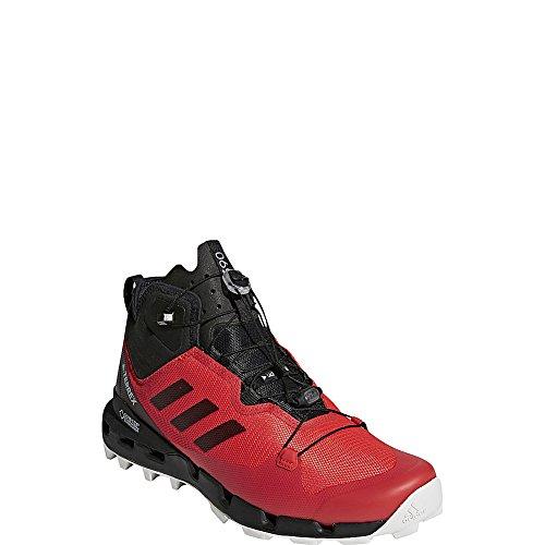 Adidas Outdoor Mannen Terrex Snel Gtx-surround Shoe (12,5 - Hi-res Rood / Zwart / Grijs