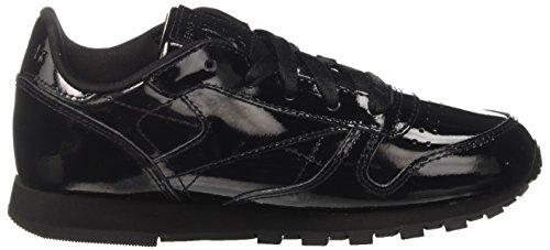 Niñas Classic Running Reebok Para Negro nero Zapatillas Patent De IYwd6Cqd