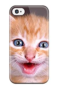 JeromeJ Design High Quality Happy Cat Cover Case With Excellent Style For Iphone 4/4s
