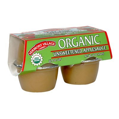 Vermont Village Cannery Applesauce Cup Unswt