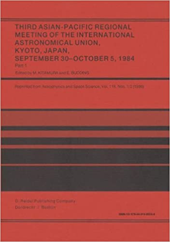 Third Asian-Pacific Regional Meeting of the International Astronomical Union: September 30-October 5 1984, Kyoto, Japan Part 1: Pt. 1and2