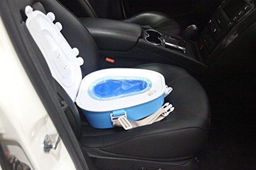 Crusar Car Emergency Miniature Toilet Portable Removable