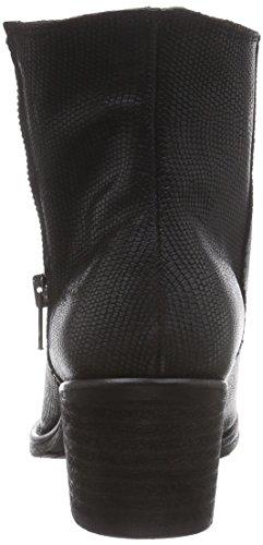 Black Classic Short Booty Boots Women's Schwarz Black Bunker Geko Length Lined Cold a1I8RqZ