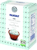 FALKSALT Cyprus Organic Sea Salt Flakes, 8.8oz Box