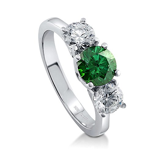 Alluring 3 Stone Ring - 6