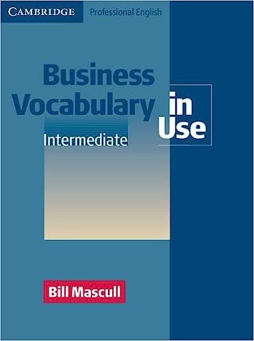 English Vocabulary In Use Intermediate Pdf