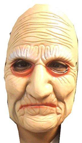 Halloween Old Witch Grandma Mask
