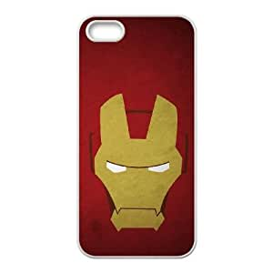 Ironman Comic Mask iPhone 4 4s Cell Phone Case White Protect your phone BVS_675783