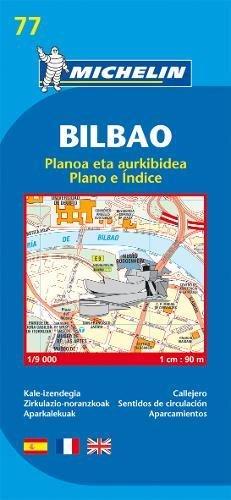 Bilbao - Michelin City Plan 77: City Plans (Planos Michelin) (Englisch) Landkarte – 1. März 2007 Collectif Michelin 2067127896 Karten / Stadtpläne / Europa Spanien