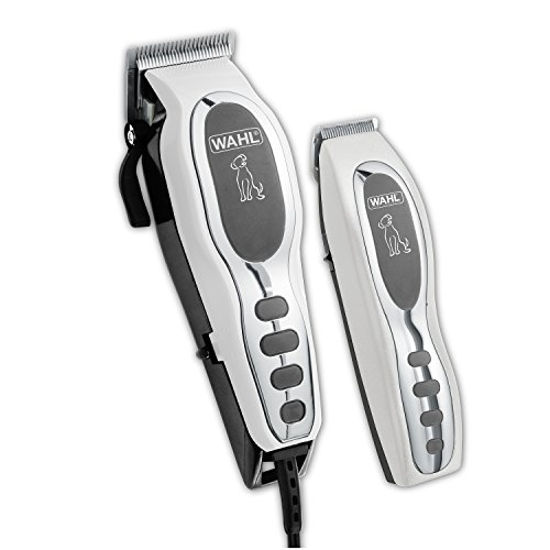 (Wahl Pet-Pro Clipper & Trimmer Pet Grooming Combo Kit for Dogs and Cats: Comes with a corded Clipper and a battery operated Trimmer, by The Brand Used By Professionals. #9284)