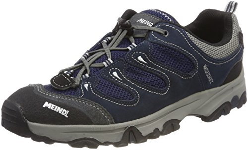 Meindl Tarango Junior 680142 - Zapatillas de deporte de ante para niños Azul