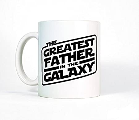 Gift for Dad, Greatest Father In The Galaxy Coffee Mug, Dad Coffee ...