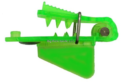 Pro-Troll Fishing Products Roto-Chip Bait Holder with EChip, Size 5B, Glow Chartreuse