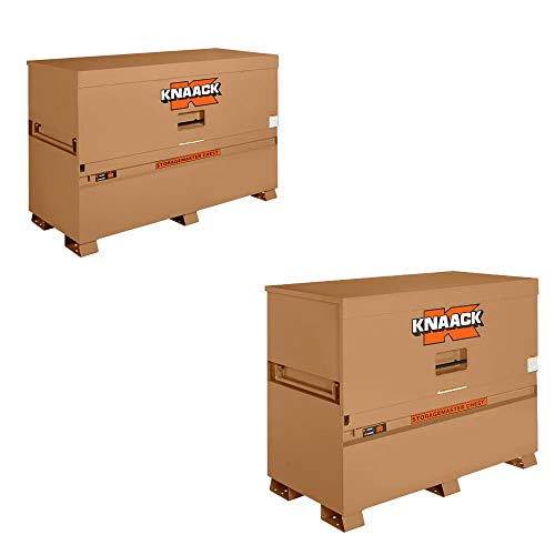"Knaack 90 72"" x 30"" x 48"" Storagemaster Chest w/ 89 60"" x 30"" x 49"" Box Chest"