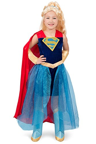 Super Hero Girls Premium Supergirl Child Costume - X-Large (Superwoman Costume For Kids)