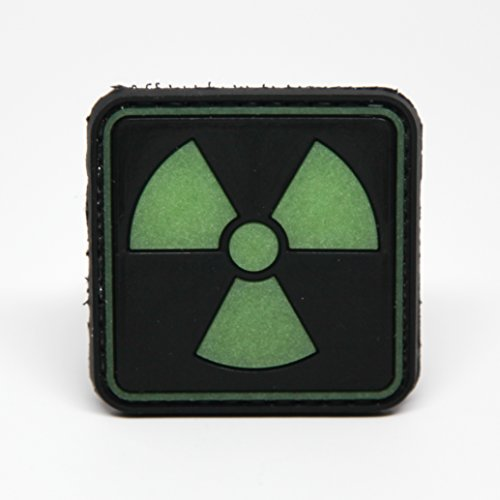 Radioactive Glow Rubber Morale Patch