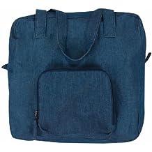 MWW Isabella's Journey Xtra Bag Expandable Tote Bag Denim Blue
