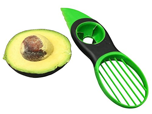 Premier Chef Avocado Slicer - 3-in-1 Tool Works as a Splitter, Pitter and Cutter for Avocados - Professional...
