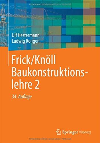 Frick/Knöll Baukonstruktionslehre 2