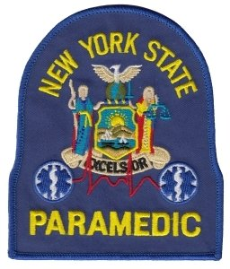 Amazon.com: NEW YORK STATE PARAMEDIC - Shoulder Patch ...