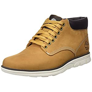 Timberland Bradstreet Chukka Leather, Bottines Homme, Marron (Wheat Nubuck), 39.5 EU