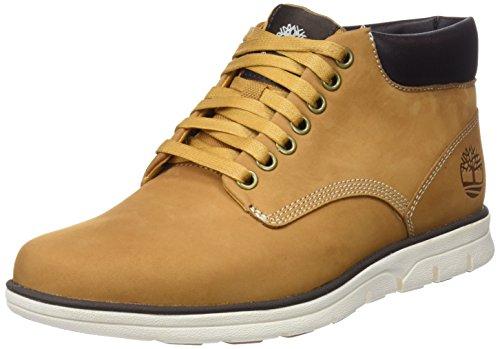 Timberland Herren Bradstreet Leather Sensorflex Chukka Boots Gelb (Wheat Nubuck)