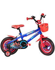Spartan Marvel Spiderman Bicycle, Multi Color, 12 inch