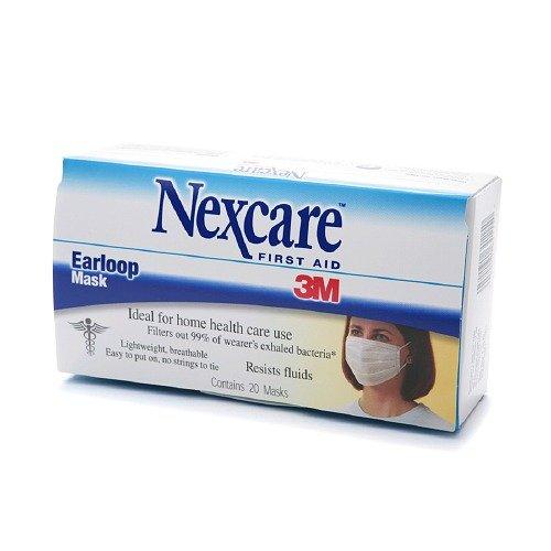 Nexcare Mask, Earloop 20 ea Pack of 6