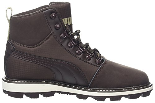 Tatau Unisex 2 Zapatillas chocolate Coffee Brown Marrón Boot Fur Puma Adulto black XqtwIad1cx