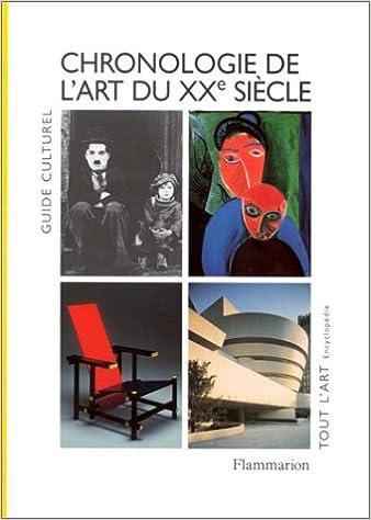 Téléchargement Chronologie de l'art du XXe siècle pdf