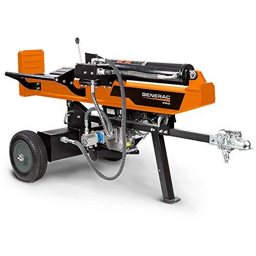 Generac WH25034GMNG 34-Ton Pro Hydraulic Horizontal-Vertical Log Splitter