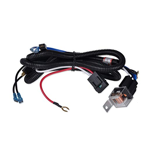 SIZZLEAUTO 12V Horn Wiring Harness Relay Kit for Car Truck Grille Mount Blast Tone Horns (Horns are not Included!) ()