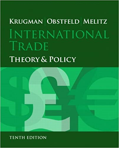 International trade theory and policy 10th edition paul r international trade theory and policy 10th edition 10th edition by paul r krugman fandeluxe Choice Image