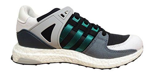 Adidas Originals Equipment Supprt 93/16 Boost Heren Hardloopschoenen Sneakers Kern Zwart Wit Groen S79111