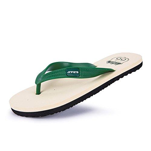 Hombre de Zapatillas verde Moda DYY Hombres de Verano Chanclas de para Sandalias qEwazPZ