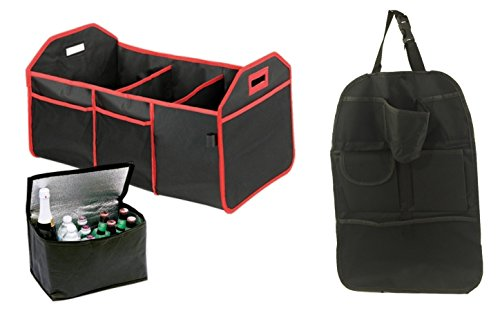 3 Piece Ultimate Car and Trunk Organizer