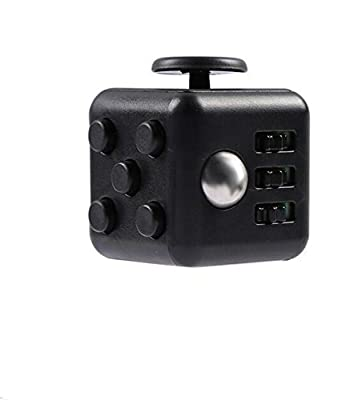 Grand Oasis Fidget Cube Relieves Stress with Buttons,Anxiety Fidget Stress Relief Focus Toys Best Gift for Children and Adults
