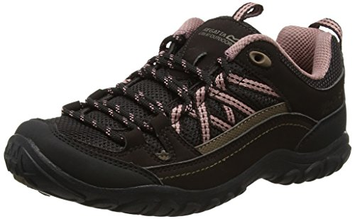 Regatta Lady Edgepoint Ii, Women's Low Rise Hiking Boots Brown (Peat/Ashrose)