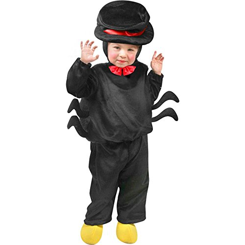 [Child's Toddler Spider Halloween Costume (Size: 2T-4T)] (Spider Costume Toddler)