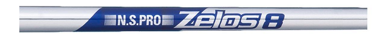 日本シャフト シャフト Zelos 8 Iron (ゼロス エイト アイアン) N.S.PRO Zelos 8 Iron S#5(37.5インチ)-#W(35.0インチ) 6本 B078P1NCR3