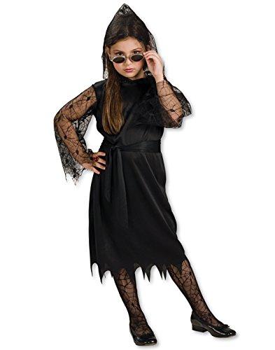 Gothic Lace Vampire Costume - 9