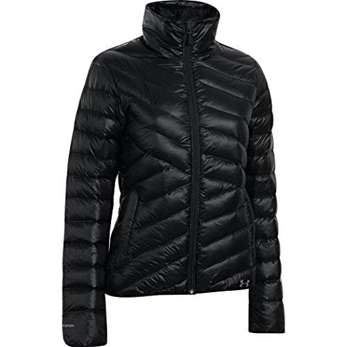 Under Armour Women's UA ColdGear Infrared Uptown Jacket, Black Steeple Gray, SM (US 4-6) ()