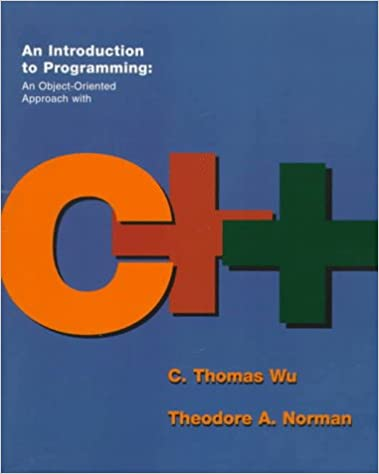 Amazon com: An Introduction to Programming: An Object